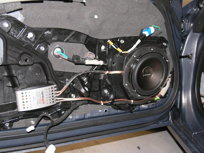 Mazda Mx 5 Audio Project With Raammat Polk Db Speakers
