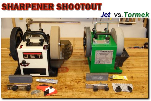 Jet Vs Tormek Sharpener Shootout
