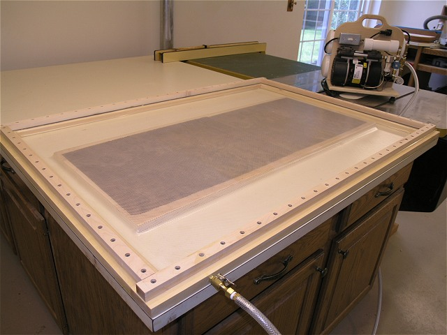 Build A Vacuum Frame Press For Veneering