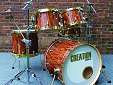 Veneered Drum Set