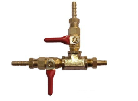 2 Way Manifold-Off