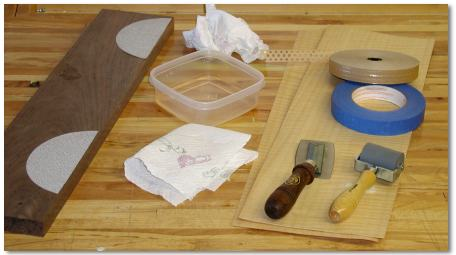 Veneer Tape And Jointing Guide
