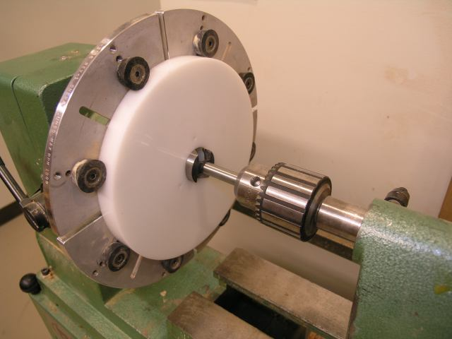 how to make lathe chuck jaws